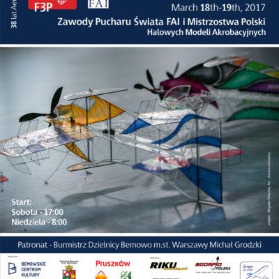Zawody Pucharu Świata FAI i Mistrzostwa Polski Halowych Modeli Akrobacyjnych