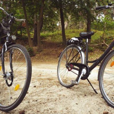 Pierwsza wycieczka Bemowskiej Grupy Rowerowej Dwa Jelonki