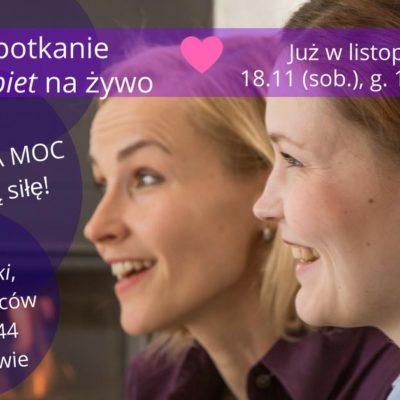 5. Spotkanie Moc Kobiet Na Żywo! Wizerunek ma MOC!