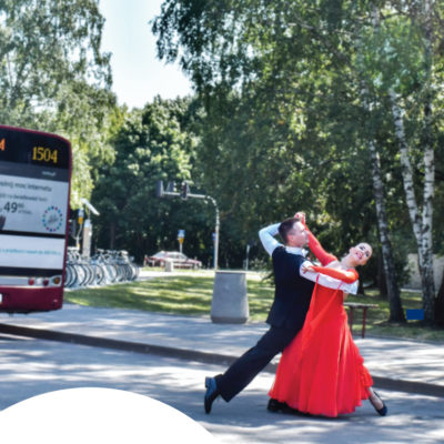 Zajęcia z tańca towarzyskiego w parach na Boernerowie