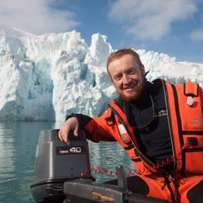 Antarktyka – stacje polarne, lodowce, pingwiny. Piotr Horzela.