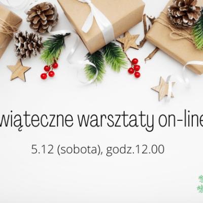 Warsztaty świąteczne on-line