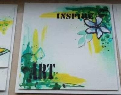 Obrazki malowane tuszem